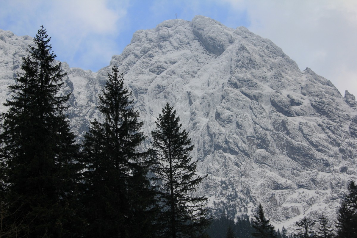 Zdjęcia: Dolina Strążyska, Tatry, Giewont zza smreków, POLSKA