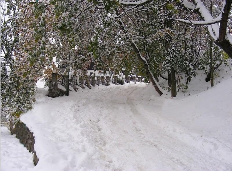 Zdjęcia: Karpacz, dolnośląskie, Wczesna zima w październiku, POLSKA