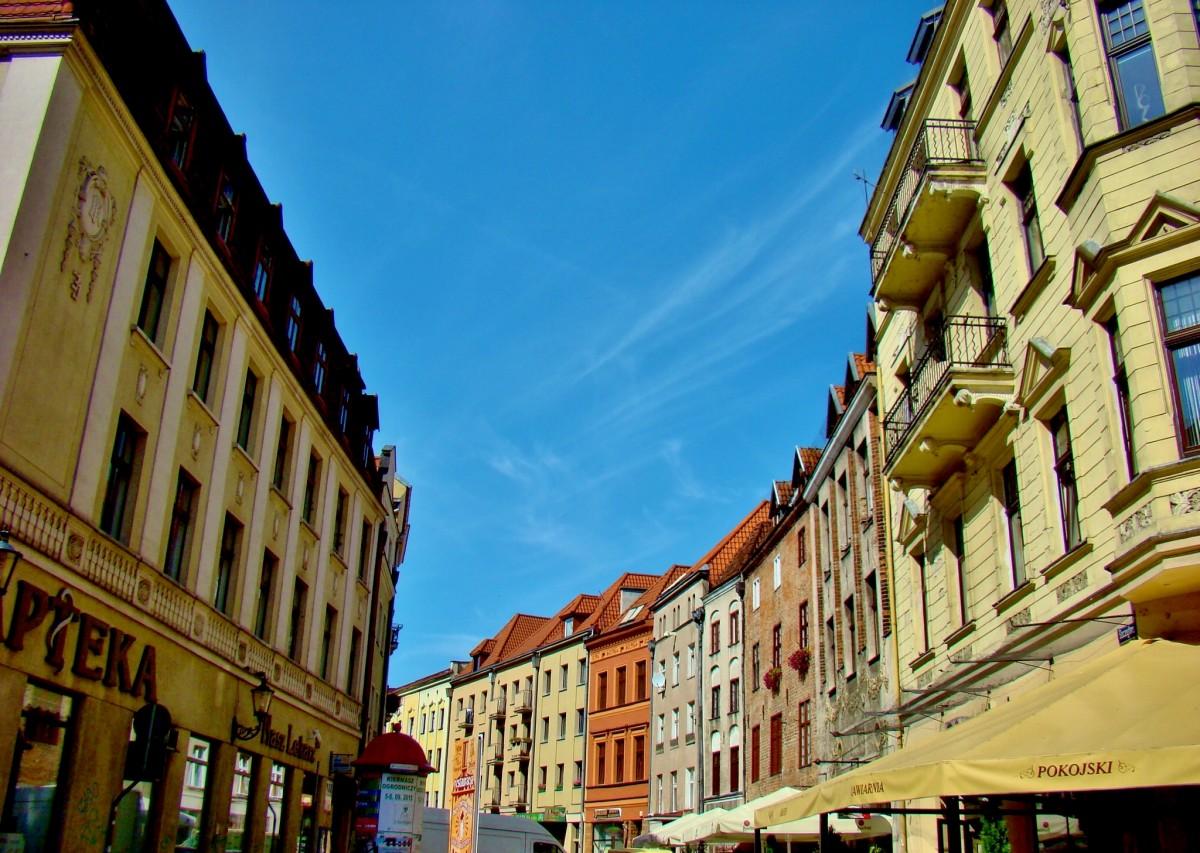 Zdjęcia: Toruń/Stare Miasto, województwo kujawsko-pomorskie, Toruń-ulica Szczytna, POLSKA