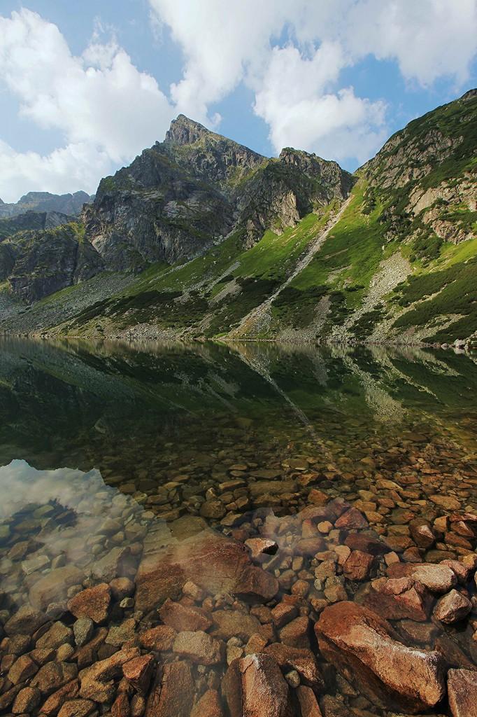 Zdjęcia: Czarny Staw Gąsienicowy, Tatry, Przejrzystość, POLSKA