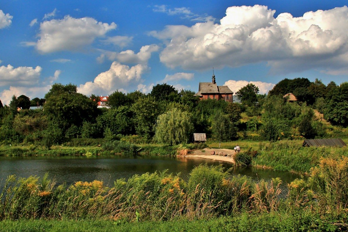 Zdjęcia: Lublin, lubelskie, Spacer w skansenie, POLSKA