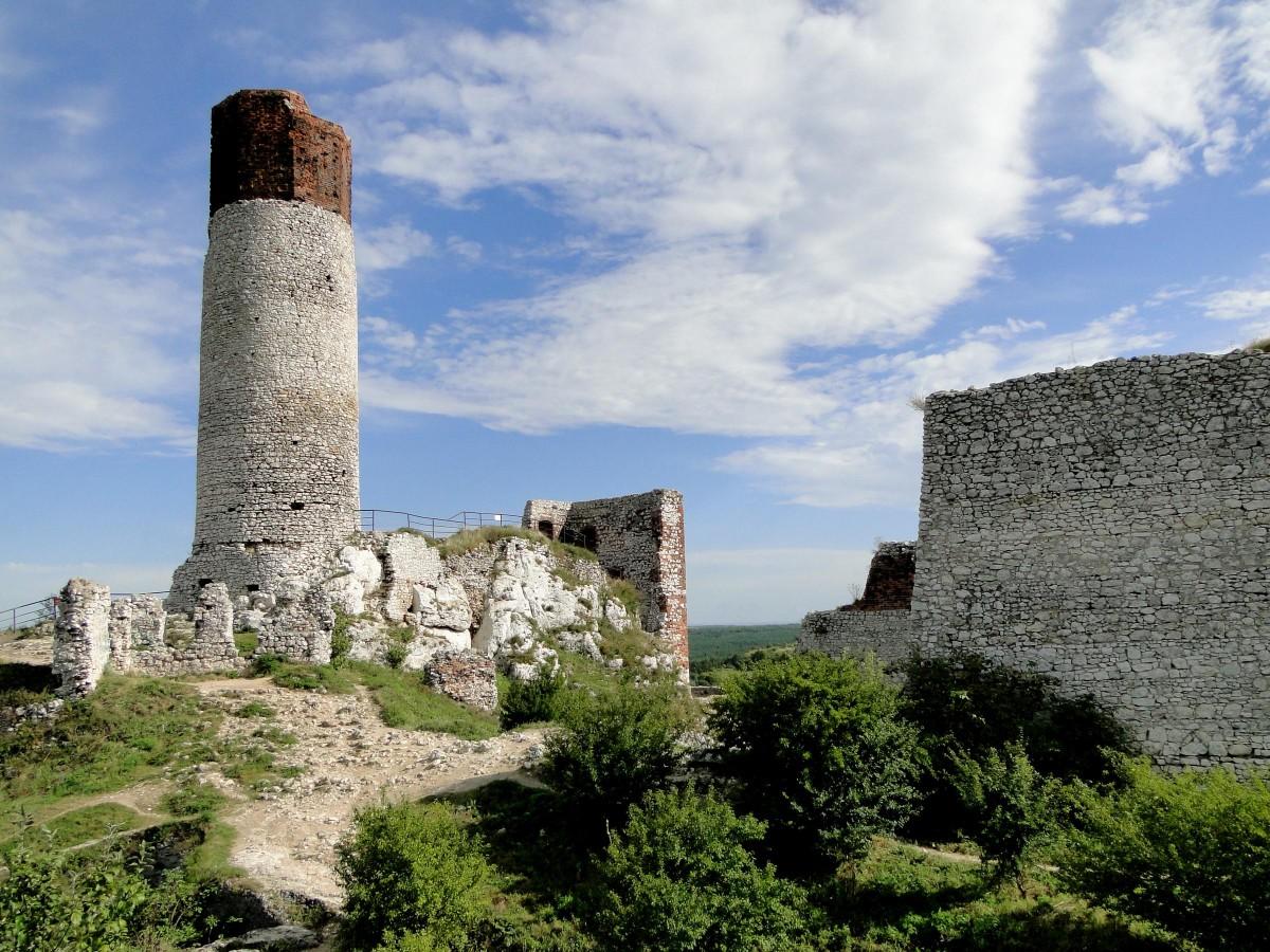 Zdjęcia: Olsztyn, Jura Krakowsko-Częstochowska, Z serii: gdzieś w Polsce., POLSKA