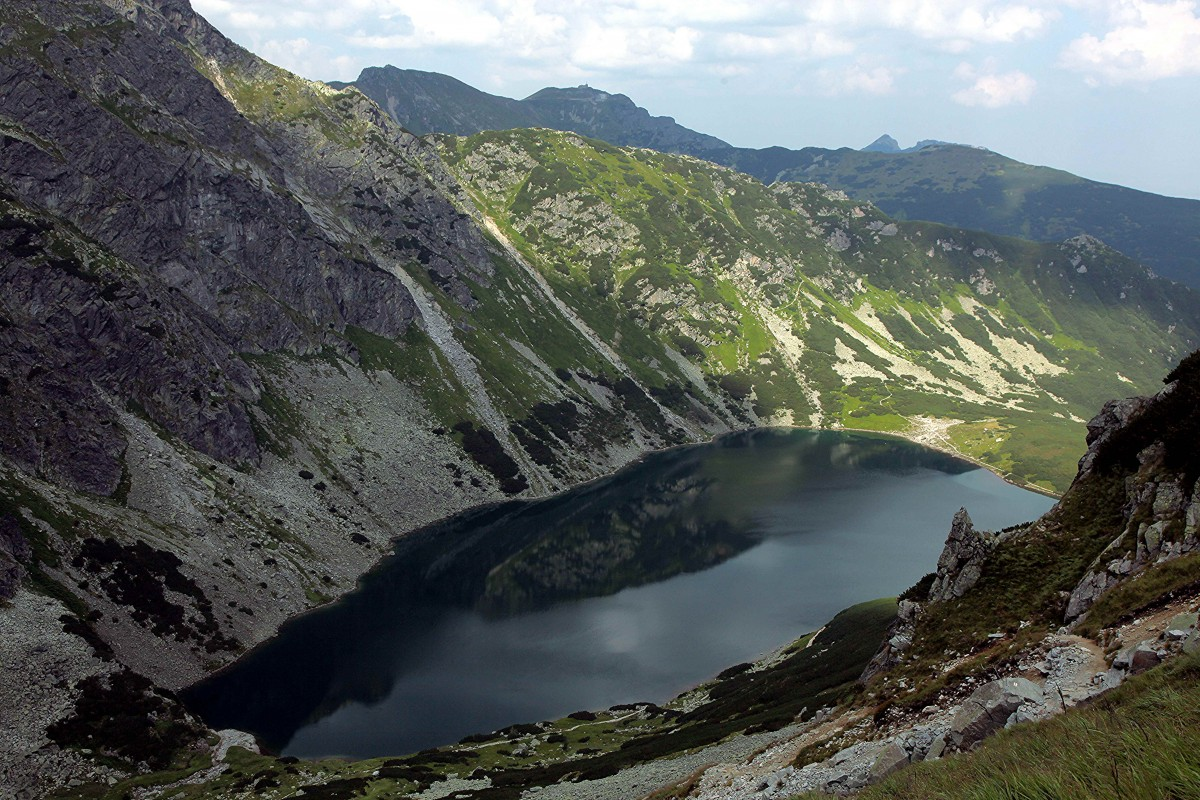 Zdjęcia: Czarny Staw Gąsienicowy, Tatry, W drodze na Granaty, POLSKA
