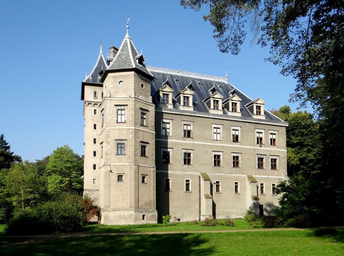 Zdjęcia: Gołuchów, Wielkopolska, Zamek w Gołuchowie, POLSKA