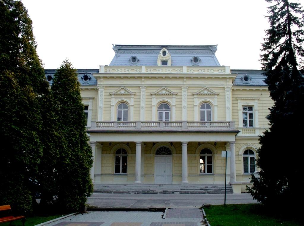 Zdjęcia: Ciechocinek, kujawsko pomorskie, Fronton, łazienki III, POLSKA