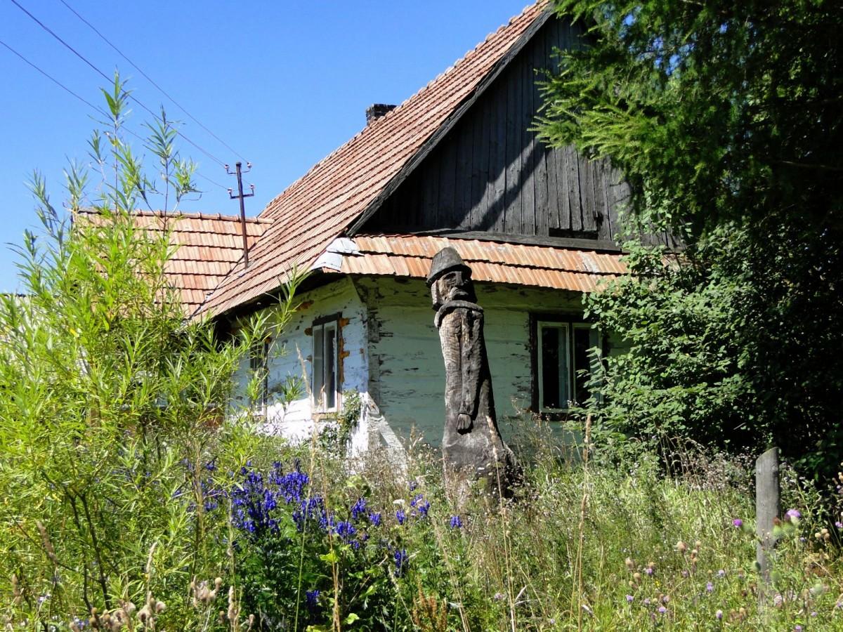 Zdjęcia:  , Bieszczady, Chata gdzieś w Bieszczadach., POLSKA