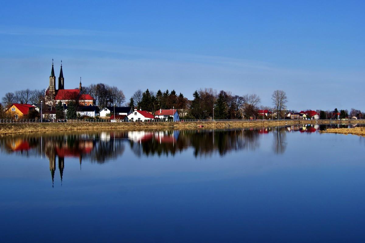 Zdjęcia: Zalew Zemborzycki, lubelskie, Nad błękitną wodą, POLSKA