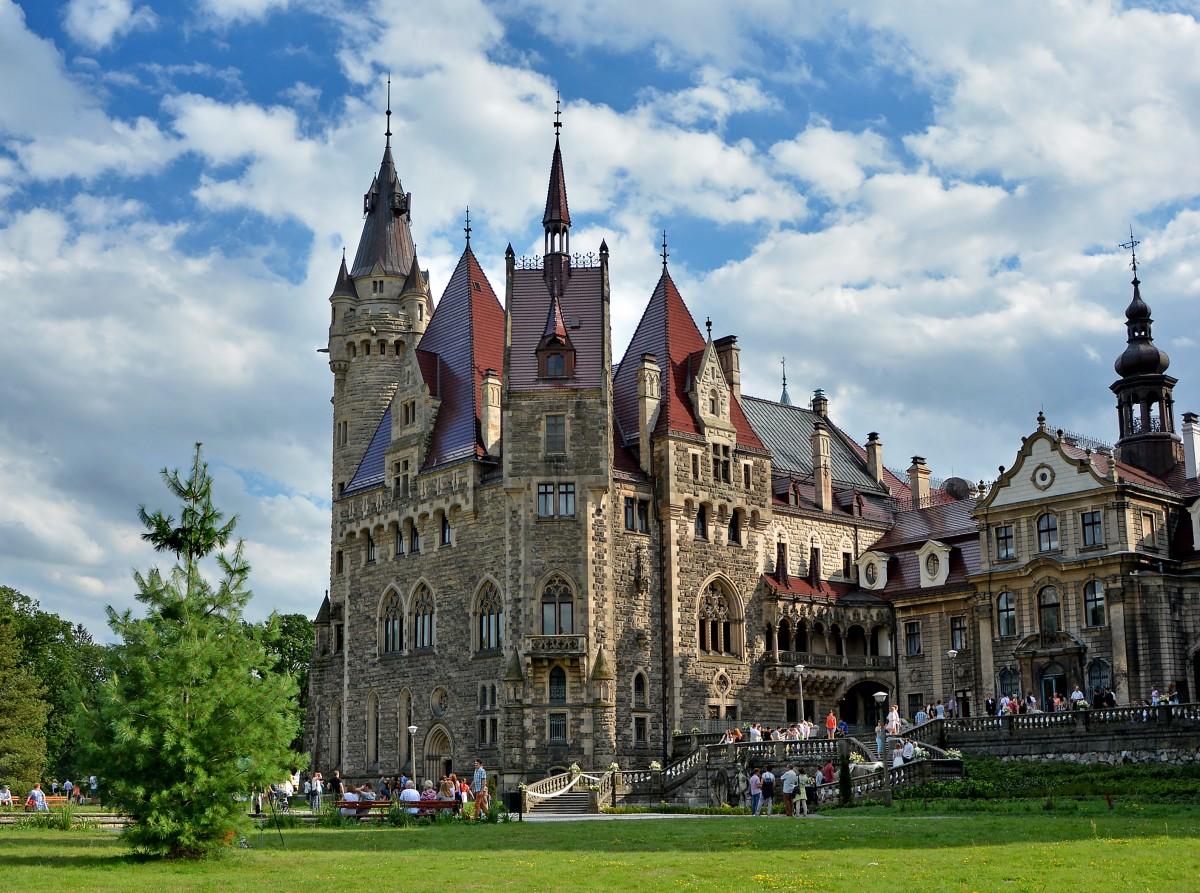 Zdjęcia: x, Opolskie, Pałac w Mosznej, POLSKA
