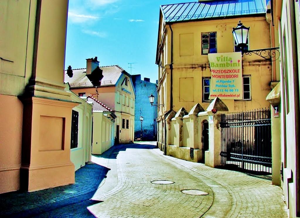 Zdjęcia: Piotrków Trybunalski, województwo łódzkie, Piotrków Trybunalski-ulica Pijarska, POLSKA