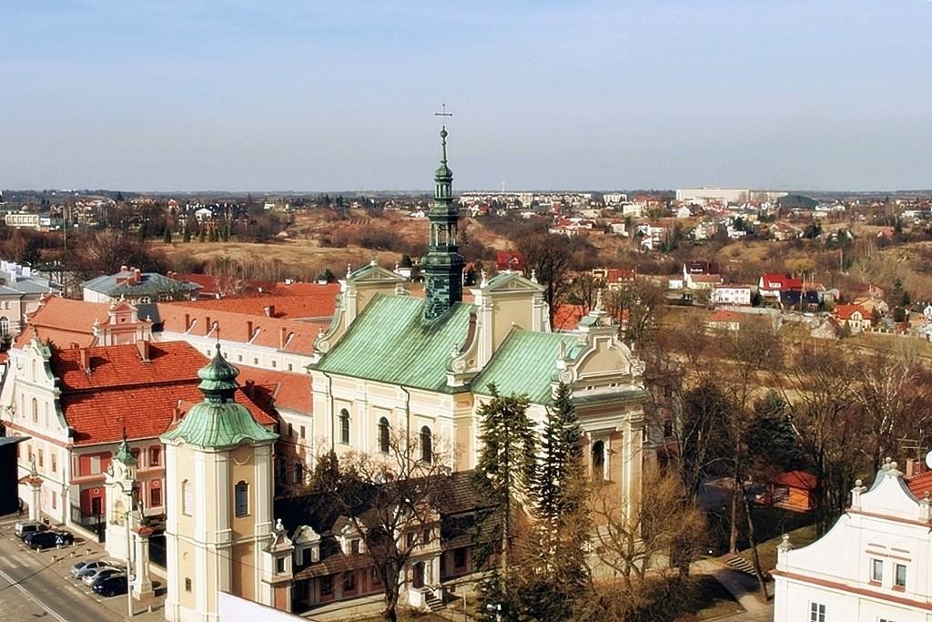 Zdjęcia: Sandomierz, woj. świętokrzyskie, Z Bramy Opatowskiej, POLSKA
