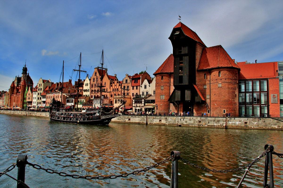 Zdjęcia: Gdańsk, Pomorskie, Stary Żuraw, POLSKA