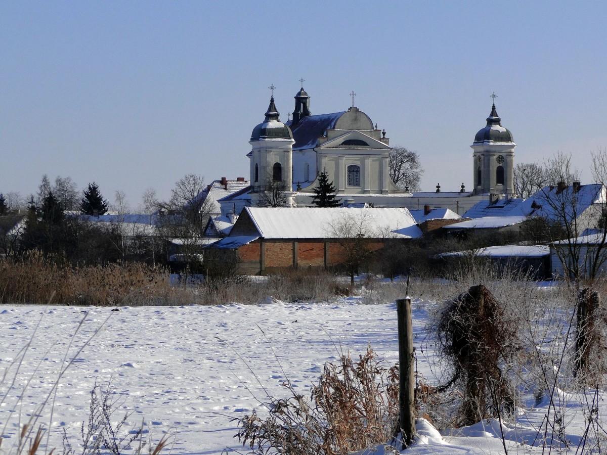 Zdjęcia: Tykocin, Podlasie, Podlaska zima., POLSKA