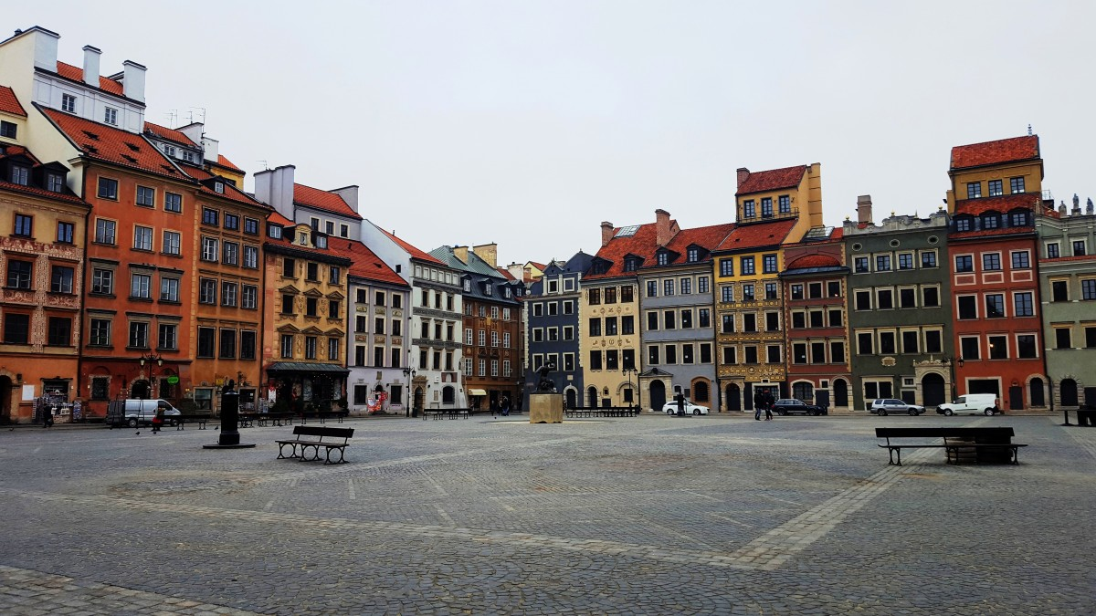 Zdjęcia: Warszawa, mazowieckie, Kolorowe, POLSKA