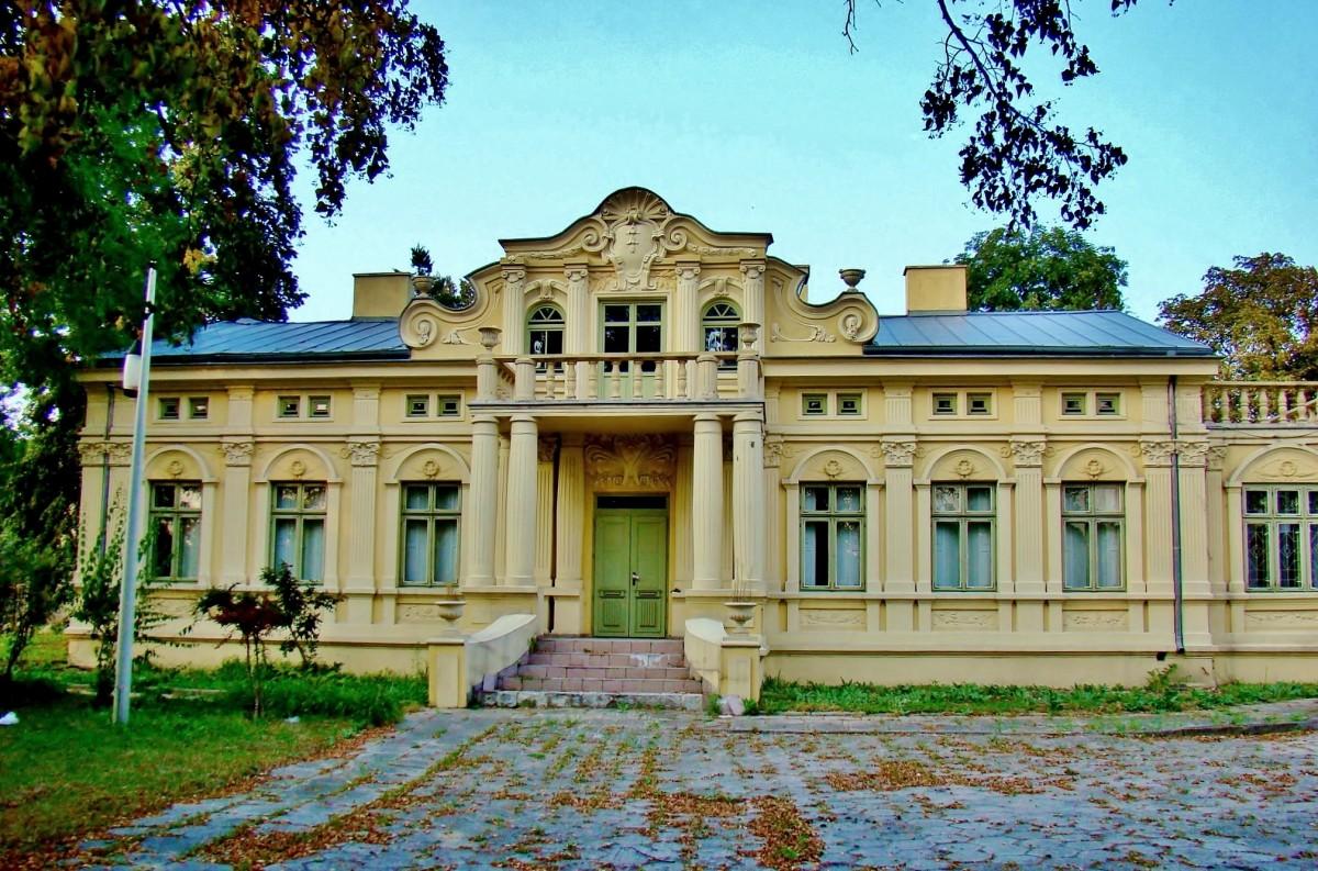 Zdjęcia: Głowno, województwo łódzkie, Głowno - pałac Jabłońskich z 1906 roku, POLSKA