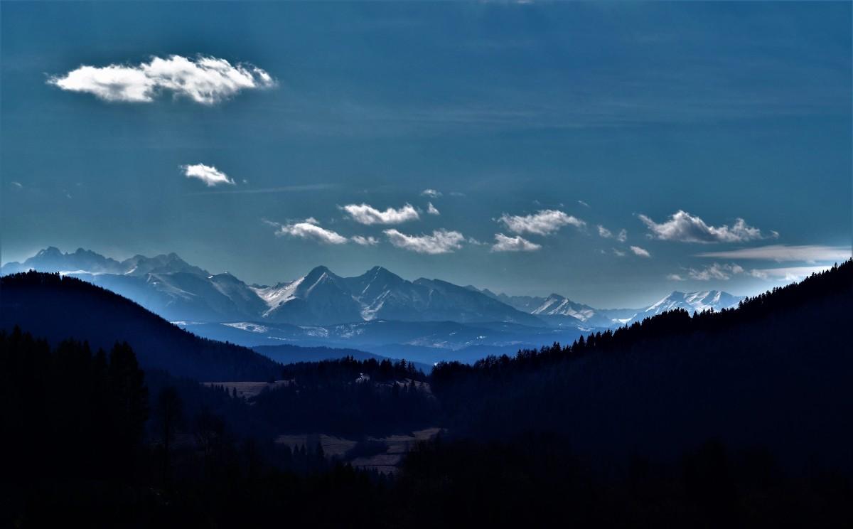 Zdjęcia: Palenica, Szczawnica, Widok z Palenicy na nasze piękne Tatry, POLSKA