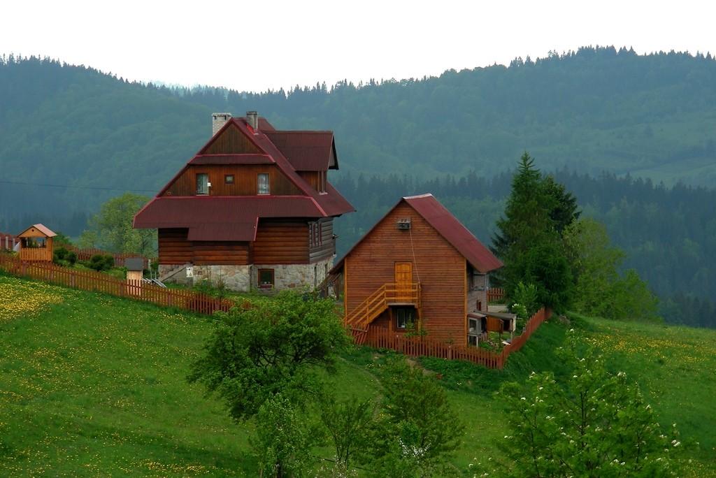 Zdjęcia: Beskid, śląskie, Domki w górach, POLSKA