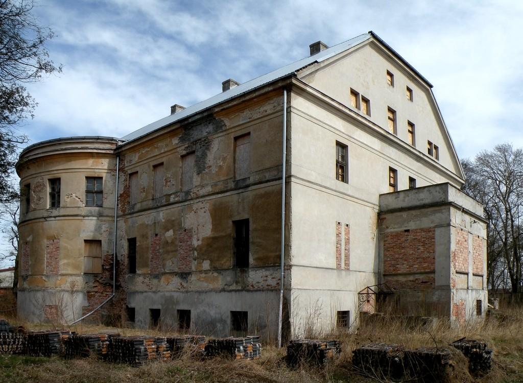 Zdjęcia: Zębowice, opolskie, Pałac z początków XIX wieku, POLSKA