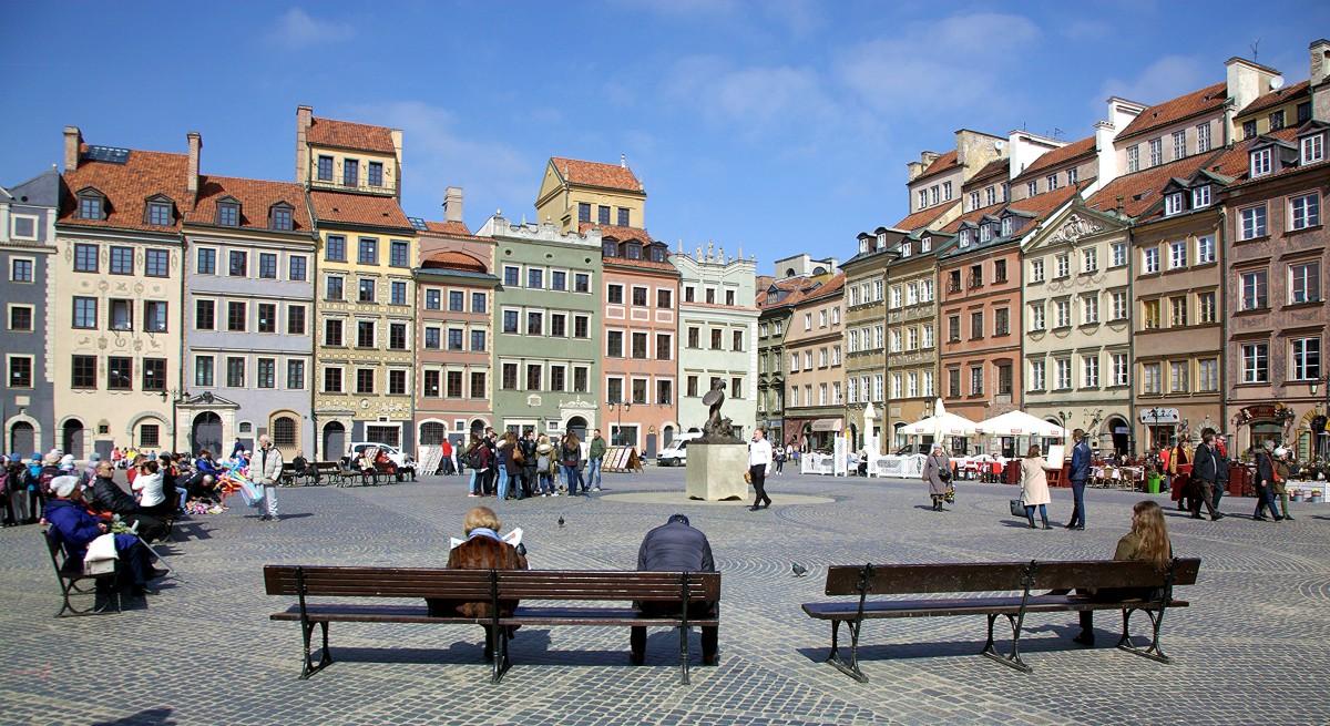 Zdjęcia: Rynek Starego Miasta, Warszawa, Salon, POLSKA