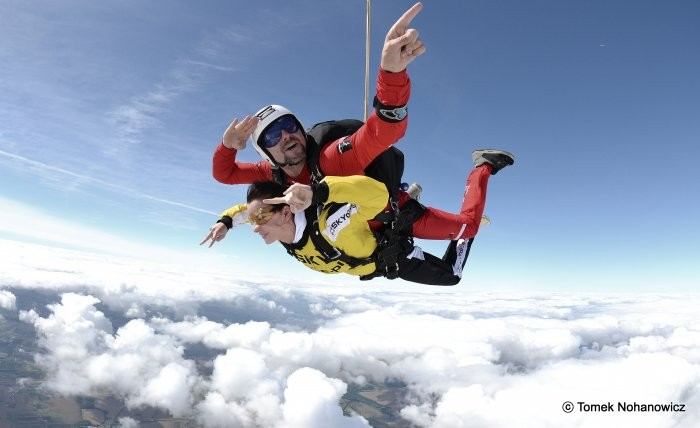 Zdjęcia:  ,  , Sky Dive, POLSKA
