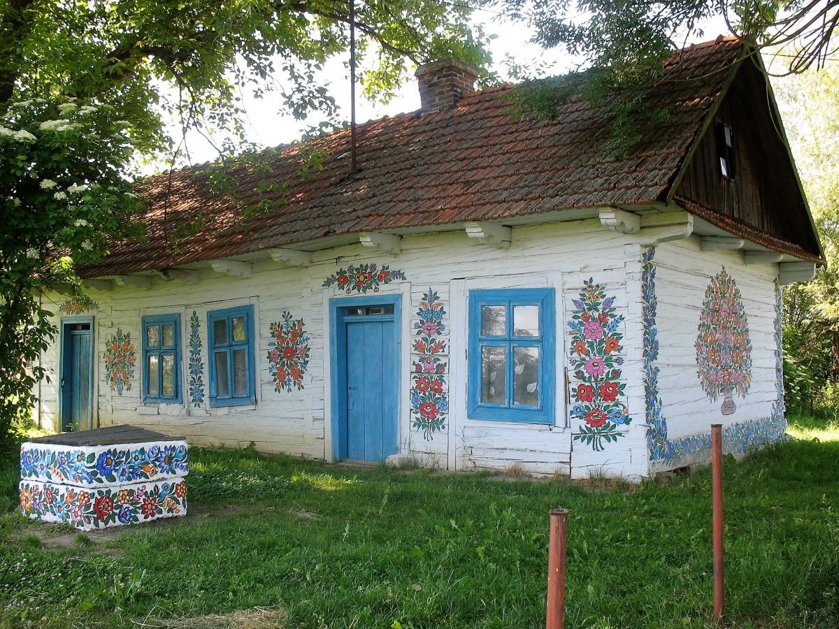 Zdjęcia: Zalipie, Małopolska, Zalipie, POLSKA