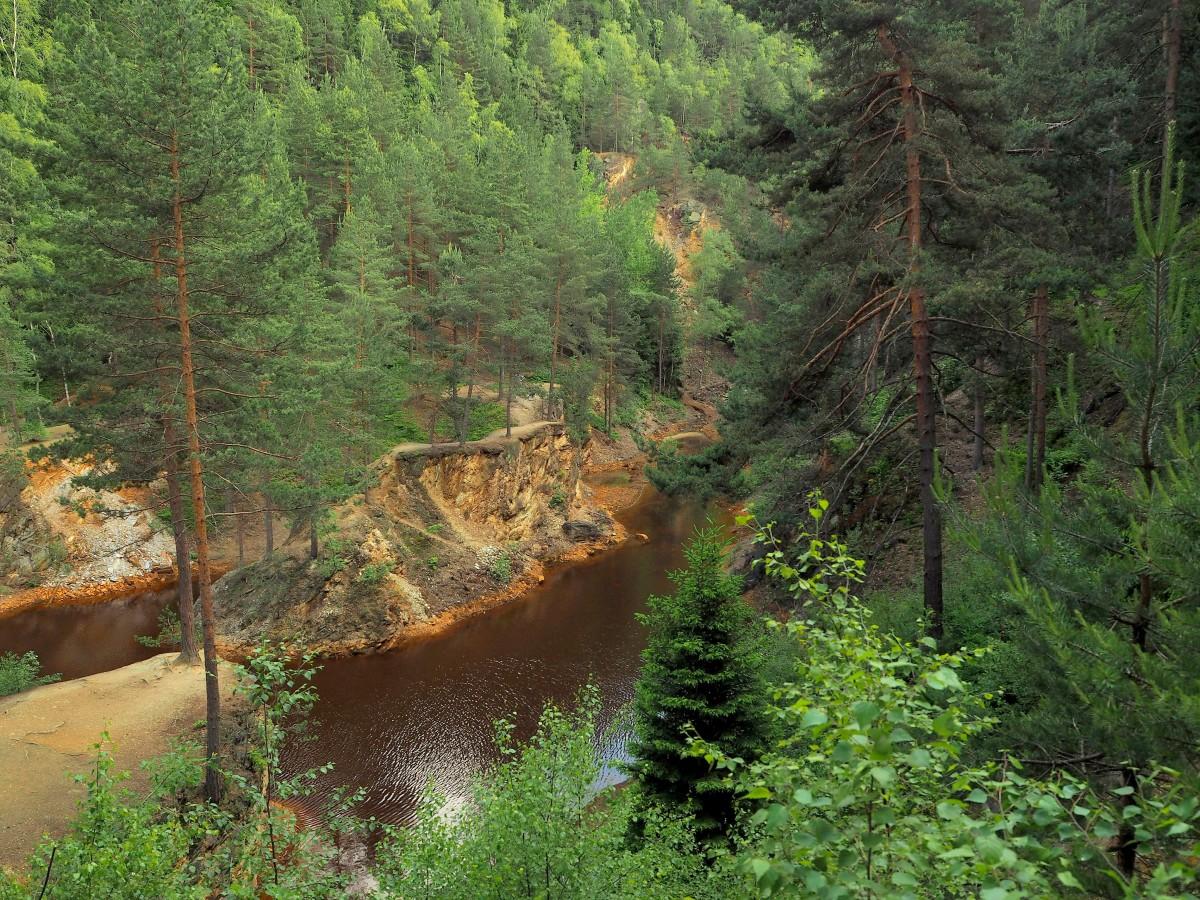 Zdjęcia: Rudawski Park Krajobrazowy, Dolny Śląsk, Kolorowe  Jeziorka: Purpurowe..., POLSKA