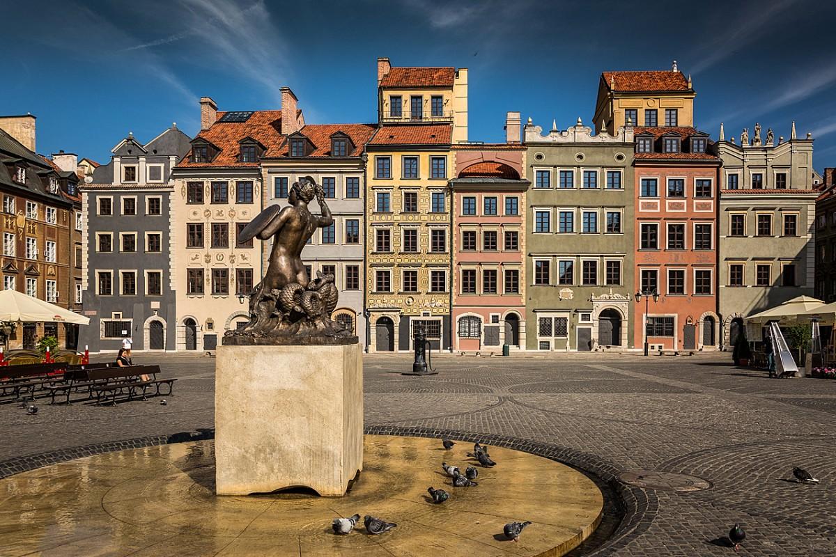 Zdjęcia: Warszawa, mazowsze, Rynek Starego Miasta, POLSKA