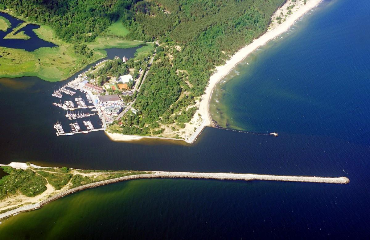Zdjęcia: Gdańsk - Stogi, Pomorskie, Narodowe Centrum Żeglarstwa i plaża, POLSKA