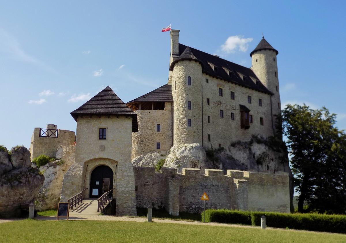 Zdjęcia: Bobolice, śląskie, Zamek w Bobolicach, POLSKA