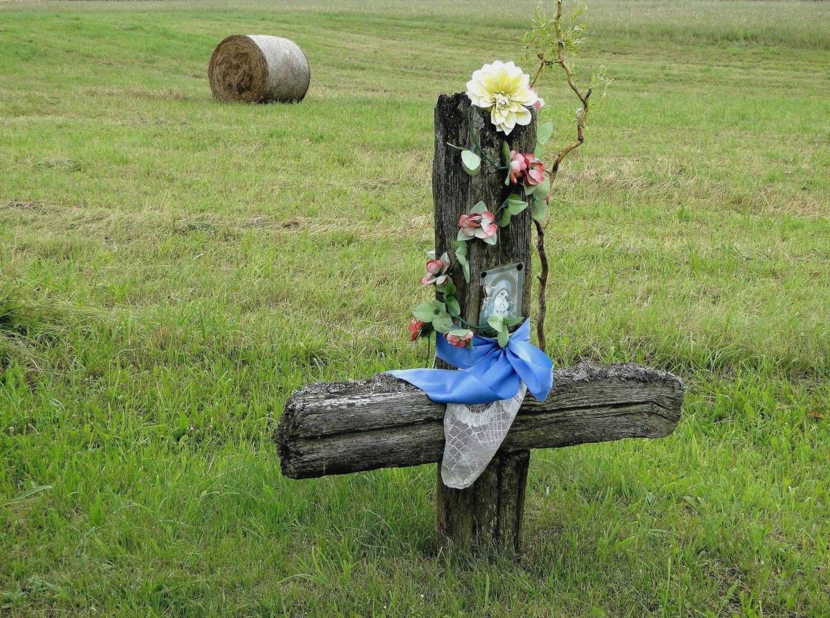 Zdjęcia: Soce, Podlasie, Z serii: obrazki z Podlasia - krzyż przydrożny, POLSKA