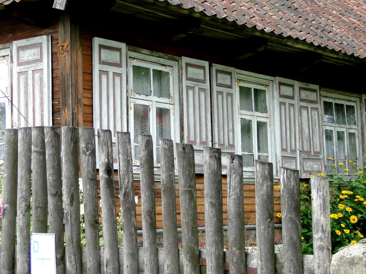 Zdjęcia: Trześcianka, Podlasie, Z serii: Kraina Otwartych Okiennic (2), POLSKA