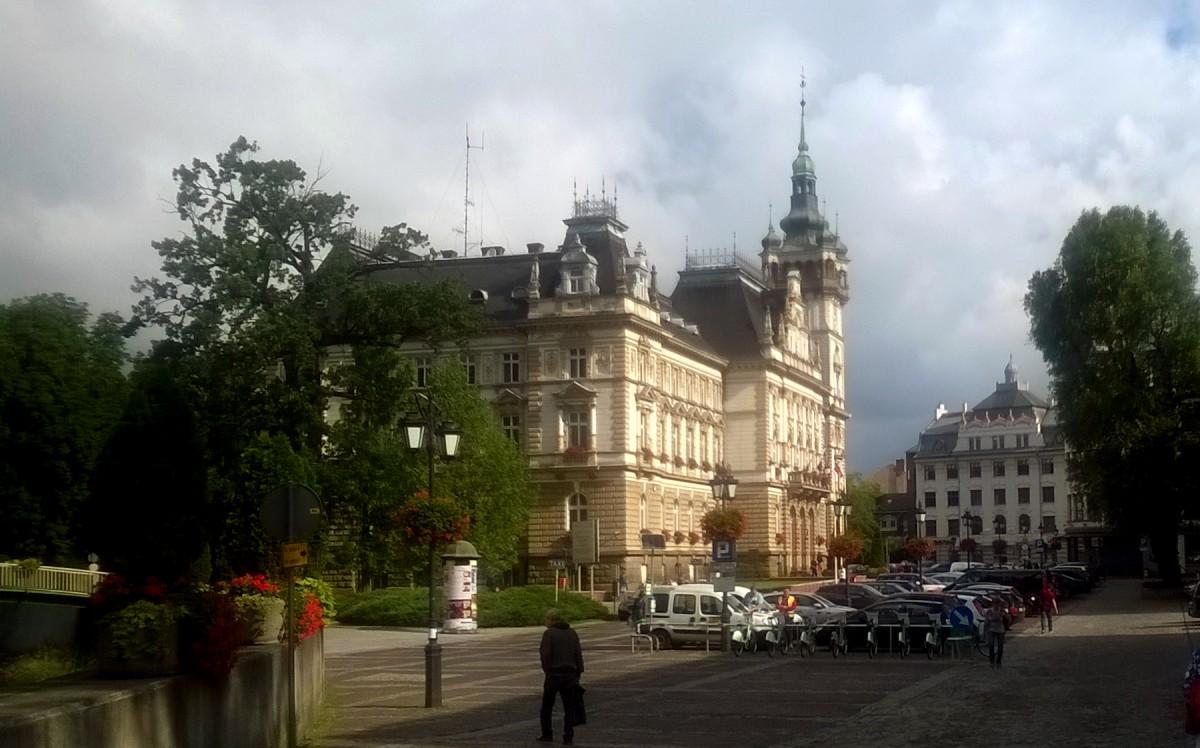 Zdjęcia: Plac Ratuszowy, Bielsko-Biała, Godne pędzla Bellotta, POLSKA