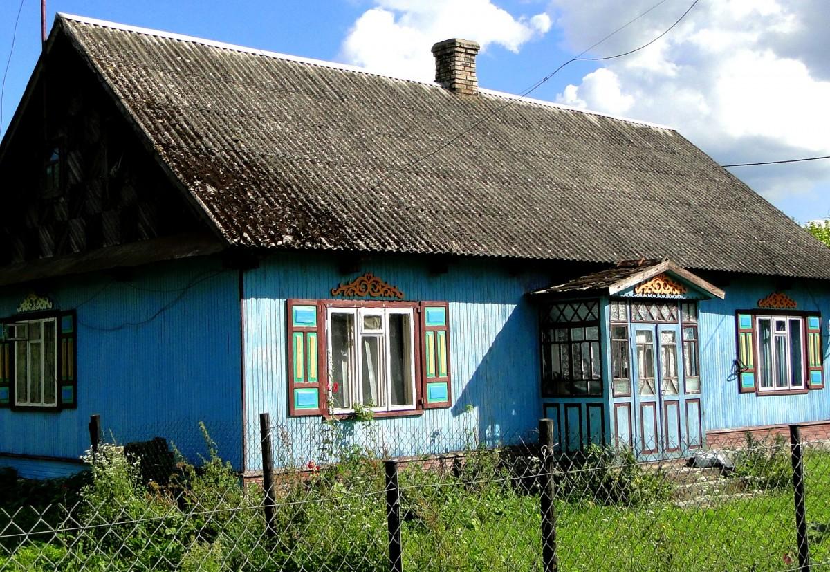 Zdjęcia: Nowoberezowo, Podlasie, Z serii: podlaskie klimaty - chata w Nowoberezowie, POLSKA