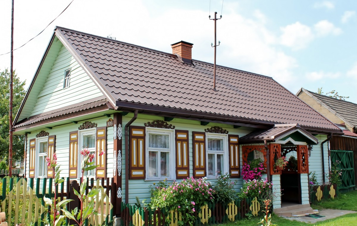 Zdjęcia: Soce, województwo podlaskie, Ładna chatka, POLSKA