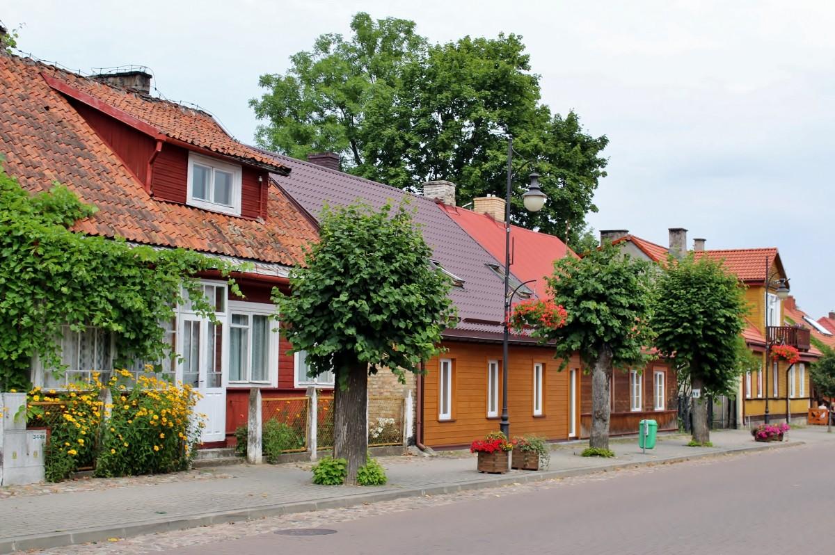 Zdjęcia: Supraśl, województwo podlaskie, Ulica 3 Maja, POLSKA
