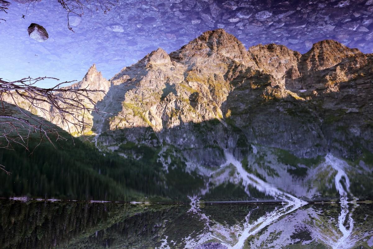 Zdjęcia: Morskie Oko, Tatry, Do góry nogami, POLSKA