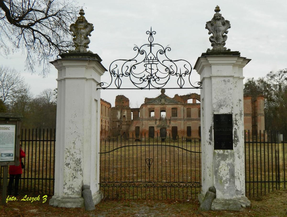 Zdjęcia: Kamieniec, Trasa Iława - Malbork, Kamieniec - Ruiny Pałacu z XVIII w., POLSKA