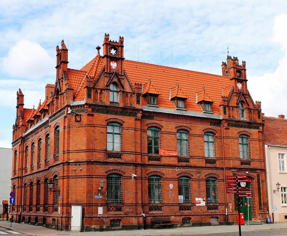 Zdjęcia: Chełmno, województwo kujawsko-pomorskie, Budynek poczty z XIX wieku, POLSKA