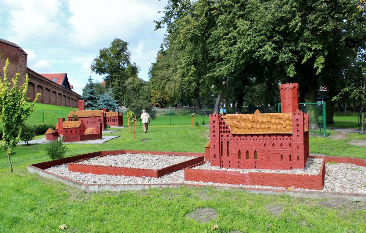 Zdjęcia: Chełmno, województwo kujawsko-pomorskie, Park Miniatur Zamków Krzyżackich, POLSKA