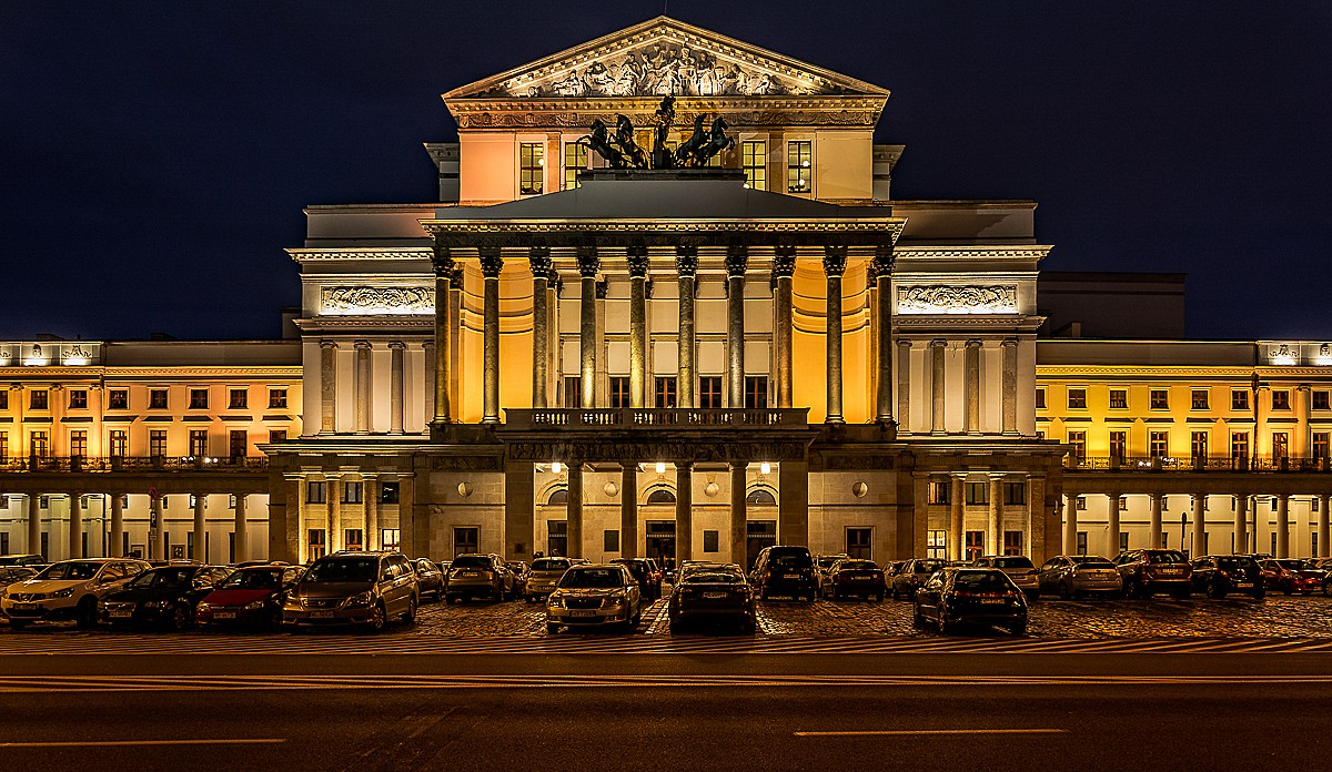 Zdjęcia: Warszawa, mazowsze, Teatr Wielki, POLSKA