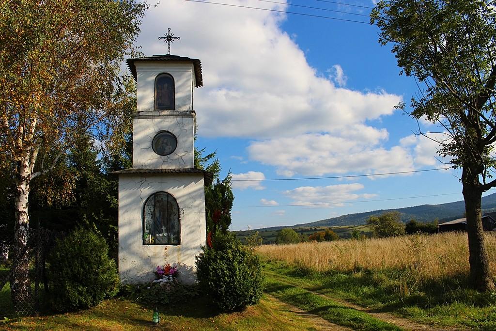 Zdjęcia: Jaśliska, Beskid Niski, Kapliczka , POLSKA
