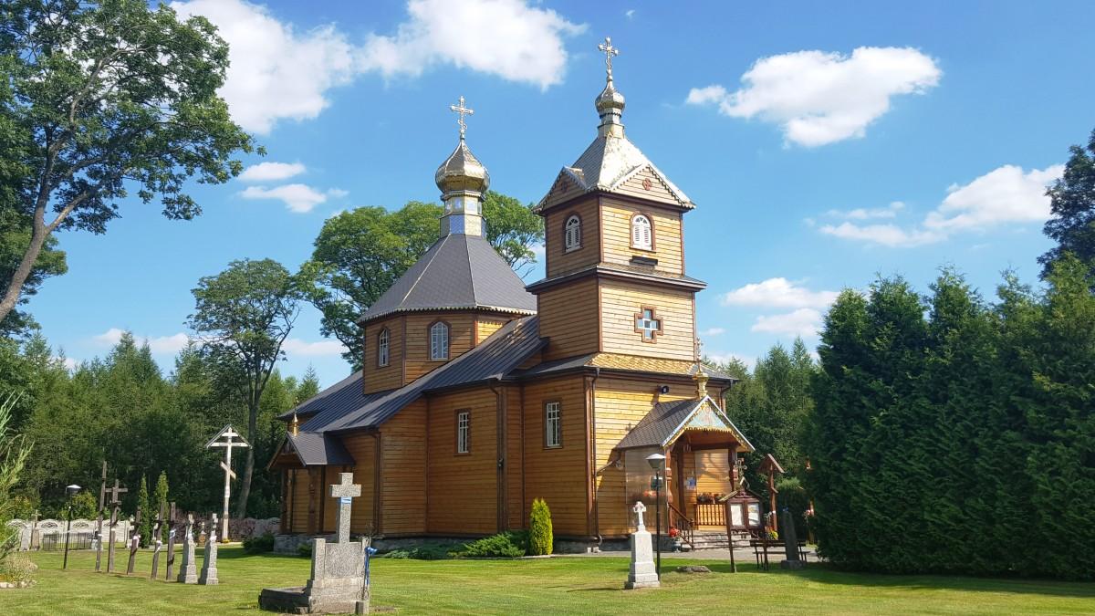 Zdjęcia: Telatycze, Podlasie, Drewniane cerkwie Podlasia, POLSKA