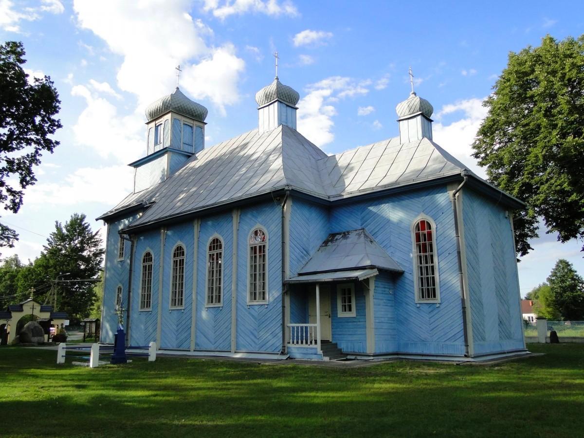 Zdjęcia: Dubicze Cerkiewne, Podlasie, Cerkiew Opieki Matki Bożej, POLSKA