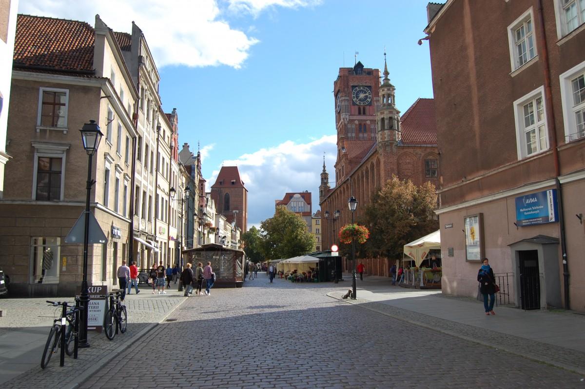 Zdjęcia: Toruń, kujawsko-pomorskie, Toruń, w głąb starego miasta, POLSKA