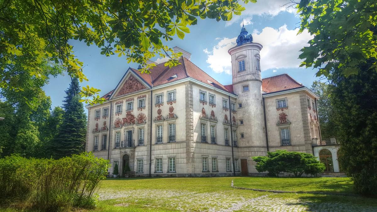 Zdjęcia: Otwock Wielki, mazowieckie, Zapomniany pałac, POLSKA