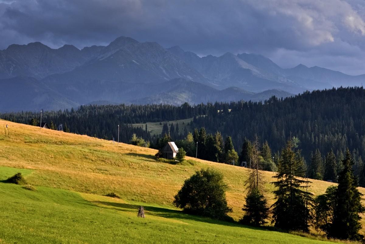 Zdjęcia: Tatry, W Drodze Do Zakopanego, POLSKA