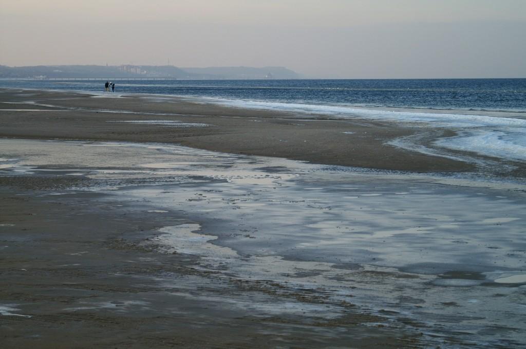 Zdjęcia: Świnoujście, Zachodniopomorskie, Bałtyk w zimie, POLSKA