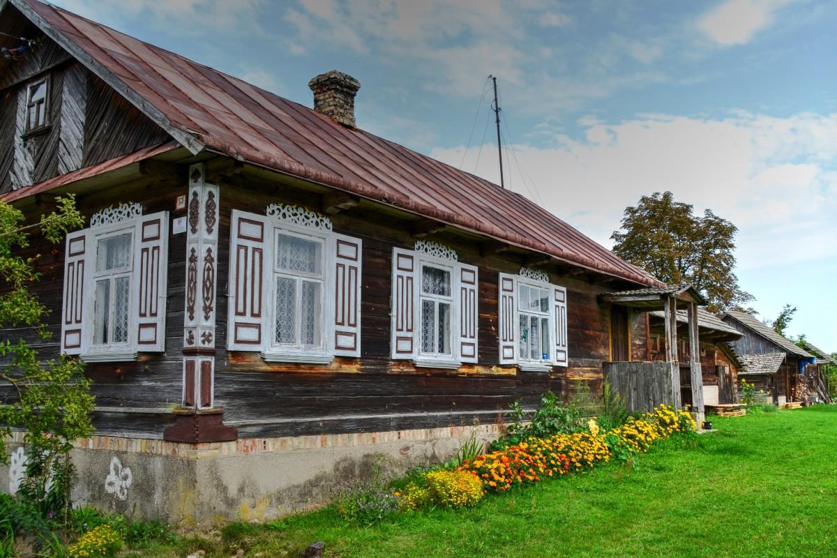 Zdjęcia: Pawły, Podlaskie, W krainie otwartych okiennic, POLSKA