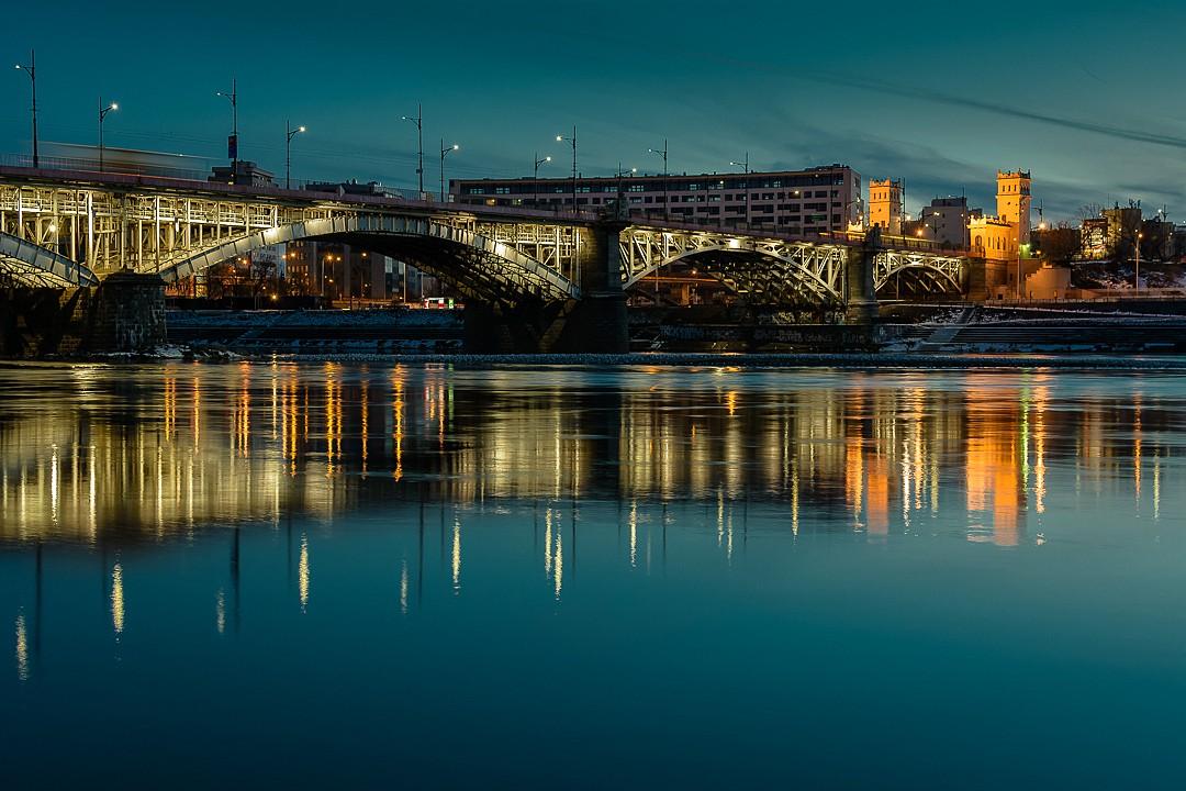 Zdjęcia: Warszawa, mazowsze, Most Poniatowskiego, POLSKA