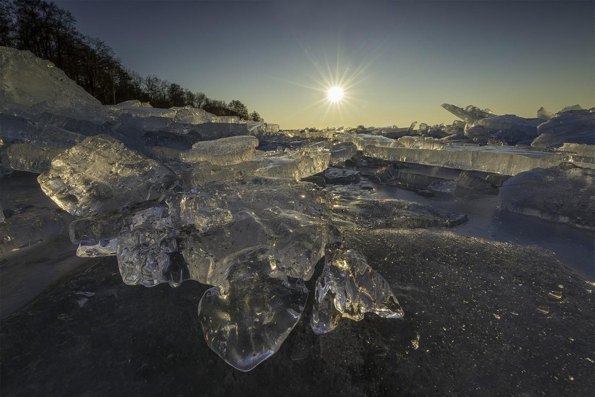 Zdjęcia: Tolkmicko , warmia , Zalew Wislany zima  , POLSKA