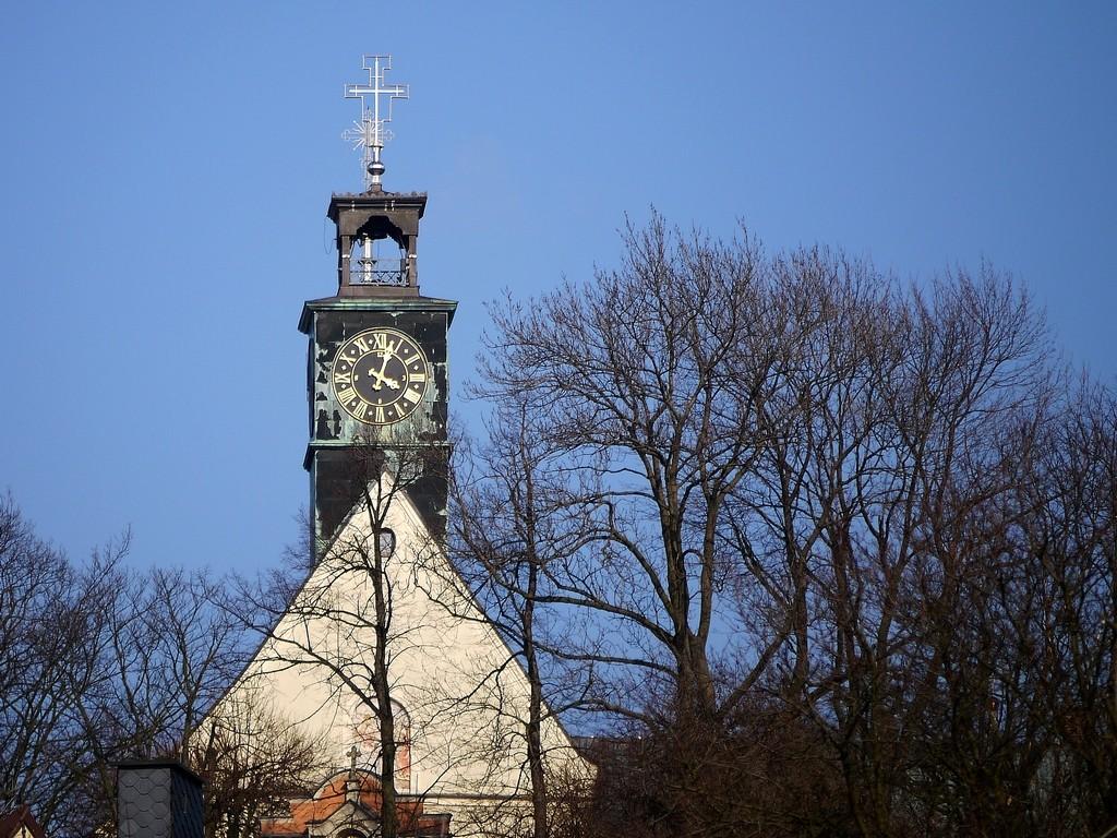 Zdjęcia: Góra św. Anny, opolskie, Wieża klasztorna, POLSKA